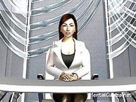 יפנית חרמנית מקבלת זין מהבוס הקשוח שלה!