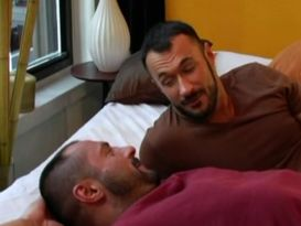 חברה חרמנים בזיון לוהט על המיטה!