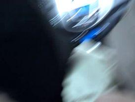 זיון חובבני אמיתי במכונית!
