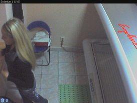 חמודה בעירום במצלמת נסתרת!